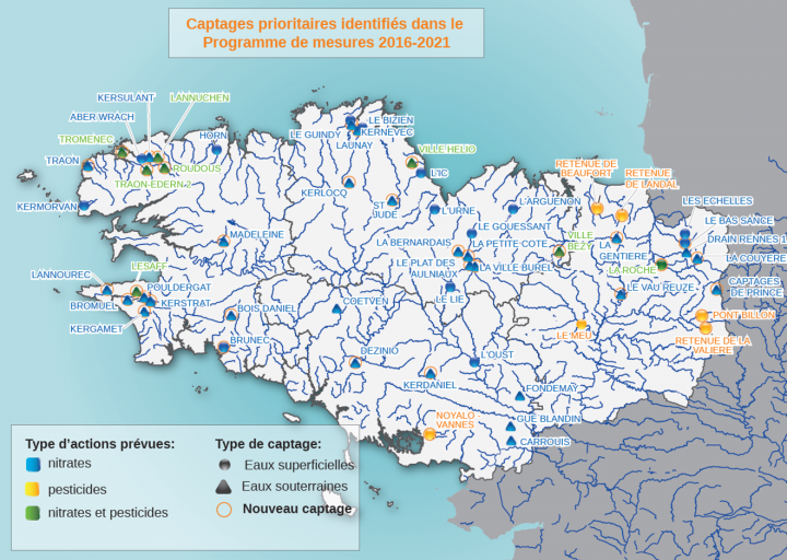 Carte des captages prioritaires -  PDF - 26.3 Mo""